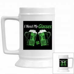 Green Beer Humor Stein