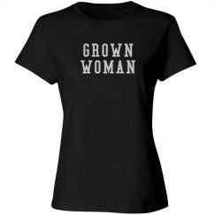 Grown Woman- Black