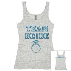 Tiffany Blue Team Bride