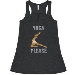 Yoga Please Shirt