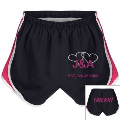 Personalized Twerk Shorts