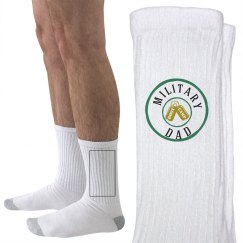 Military dad socks