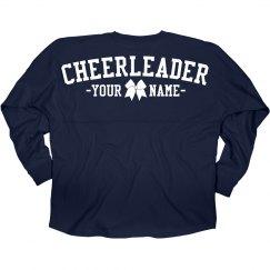 Custom Cheer Girl Jersey