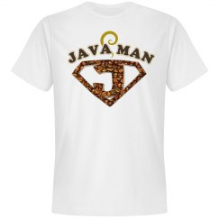 Java Man Coffee Humor Tee