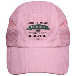 World's best godfather cap