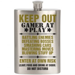 Gamer At Play Flask