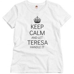 Let Teresa handle it
