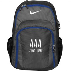 Custom Bookbag With Initials