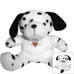 Irish Claddagh Puppy Dog