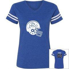 Football Mom (initials)