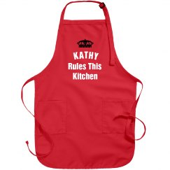 Kathy rules the kitchen