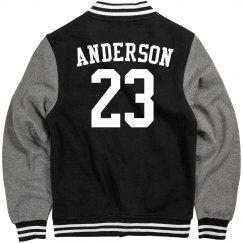 Anderson letterman jacket