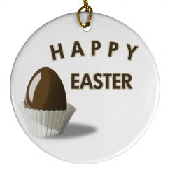 Happy Easter Ornament