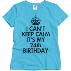 It's my 24th birthday