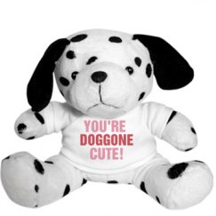 Doggone Cute Stuffed Animal