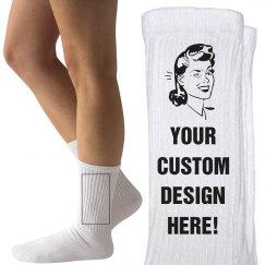 Custom Socks Gift!