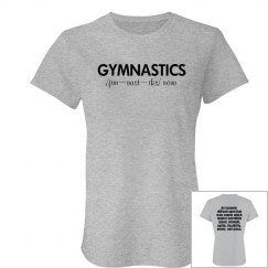 Definition of Gymnastics