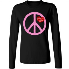 Pink Peace and Love