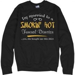 Smokin' hot funeral Director