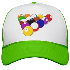 Snooker Game Peak Cap