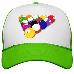 Snooker Game Peak Cap