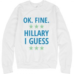 Hillary I Guess Sweater