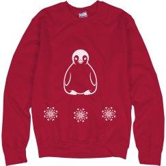 penguin xmas sweater