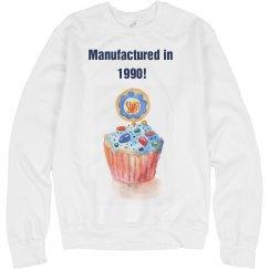 Birthday Year Cupcake