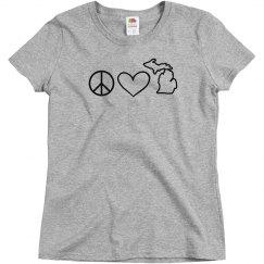 Peace Love & Michigan 2