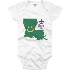 Born in Louisiana