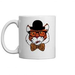 Hipster Tiger Coffee Mug