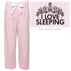 I Love Sleeping Tiara