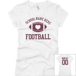 Budget Priced Football Mom Shirt