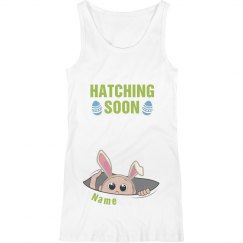 Hatching This Easter Maternity Tank