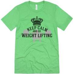 Keep calm-weightlifting