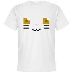 Cute Derpy Robo-Kitten Tee