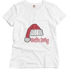 Santa Baby Maternity Tshirt