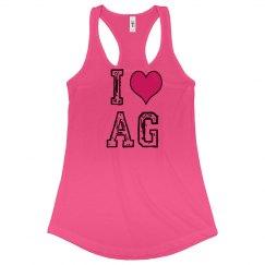 I Love AG Tee