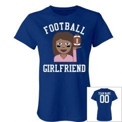 Cute Football Girlfriend