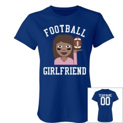 Cute Football Girlfriend