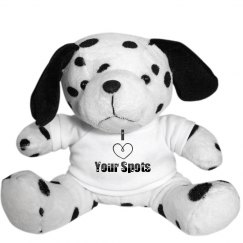 God Love's You Stuffed Dalmatian Dog