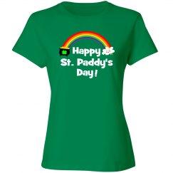 Happy St Patty's Day Rainbow