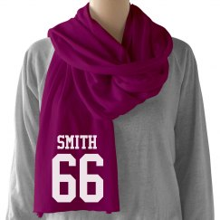 Name & Number Scarf