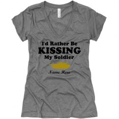 Kissing My Soldier