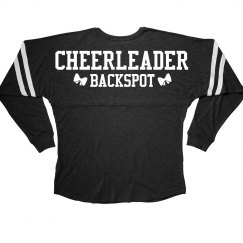 Backspot Cheerleader Position Bow