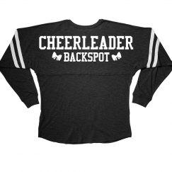 Backspot Cheerleader Position Bow
