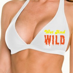 Wet and Wild Bikini Top