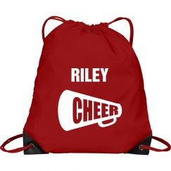 Riley cheer bag