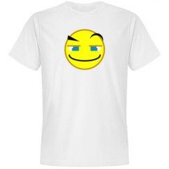 Clever Smile Emoticon Tee