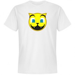 Open Mouth Cat Emoticon Tee